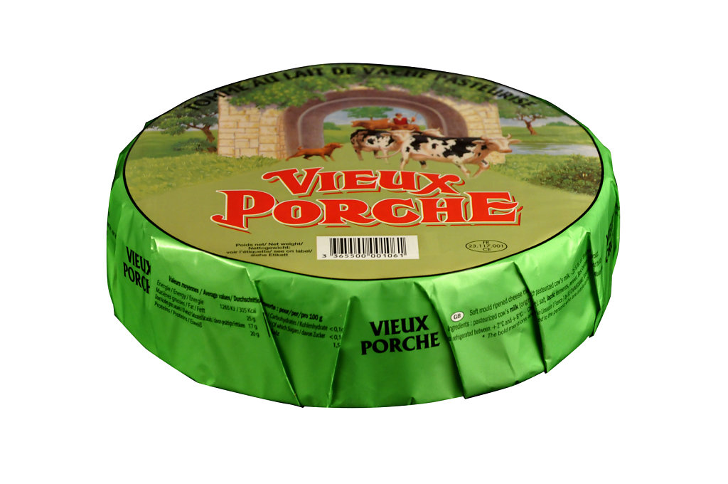 Tomme Vieux Porche